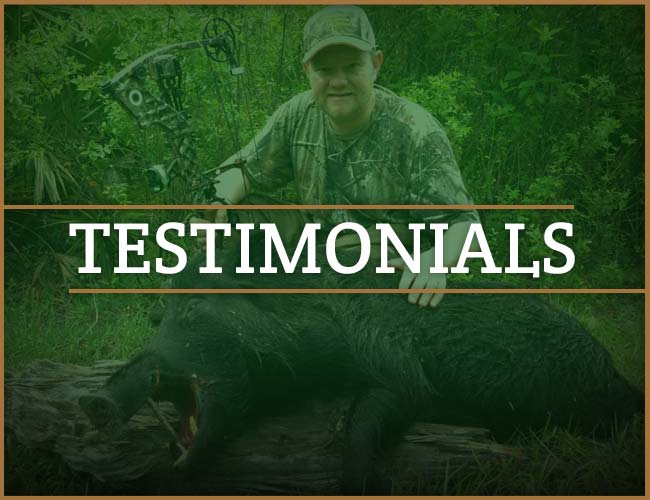 God's Country Outfitters Testimonials