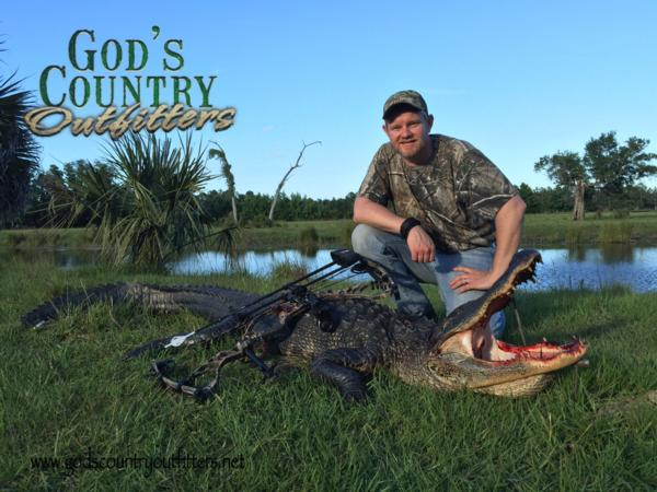 Paul's Trophy gator