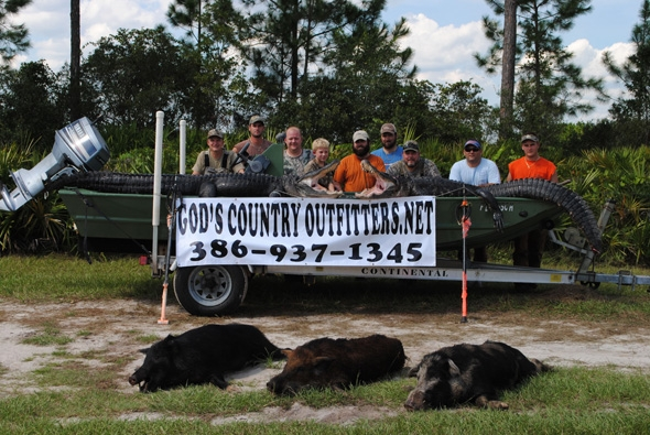 Types of Florida Hog Hunts