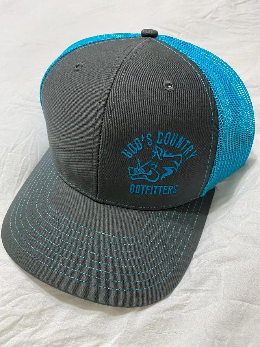 Hog Trucker Hat Blue