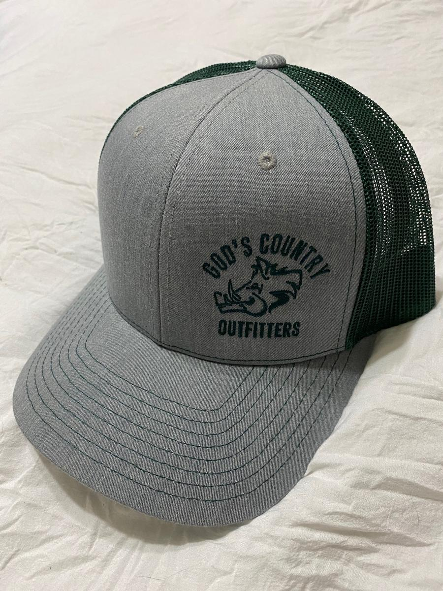 Hog Trucker Hat Gray